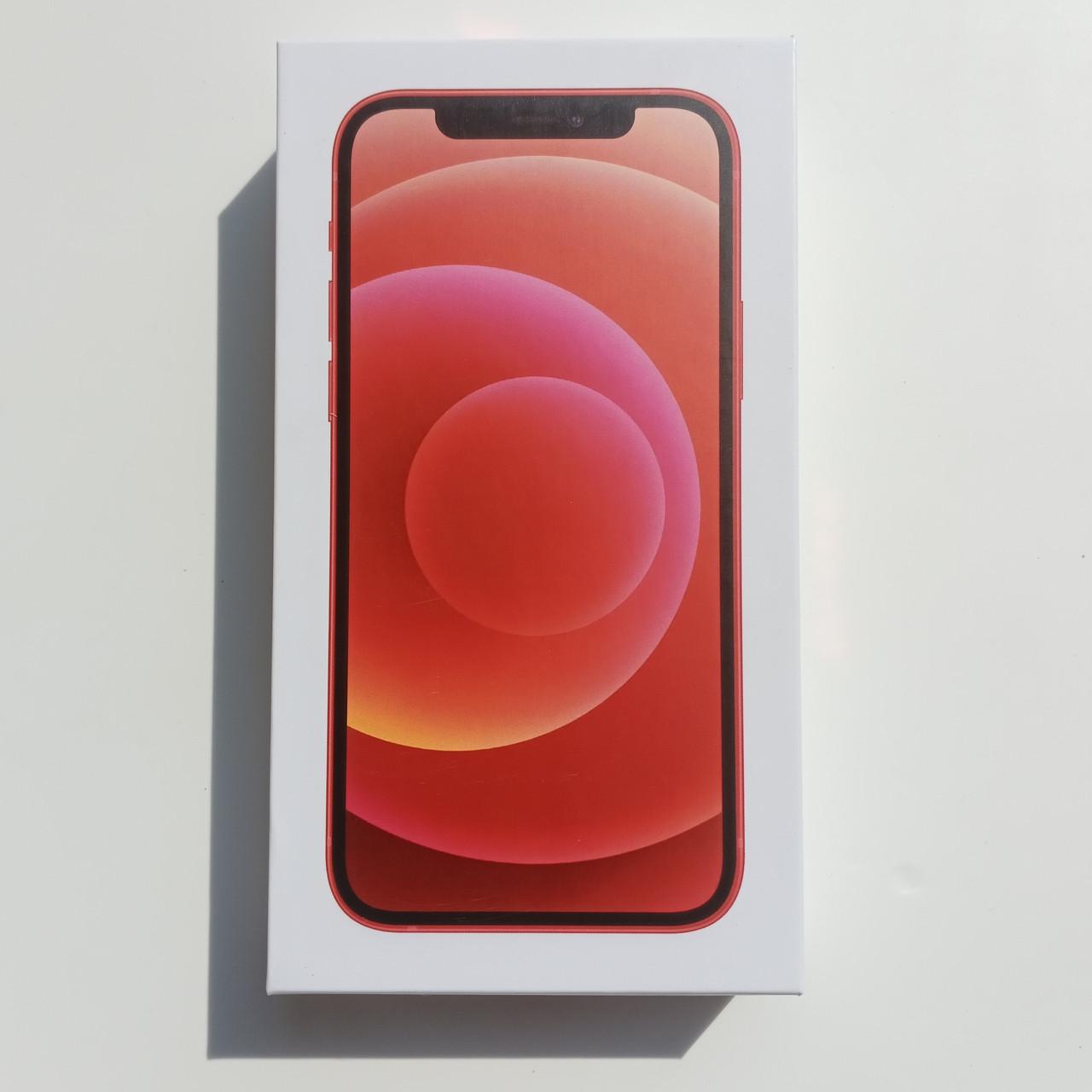 Коробка Apple iPhone 12 Mini Red