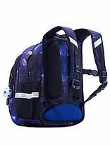 Рюкзак ортопедический школьный для мальчика в 1-4 класс с 3Д рисунком Космос SkyName R2-180, фото 2