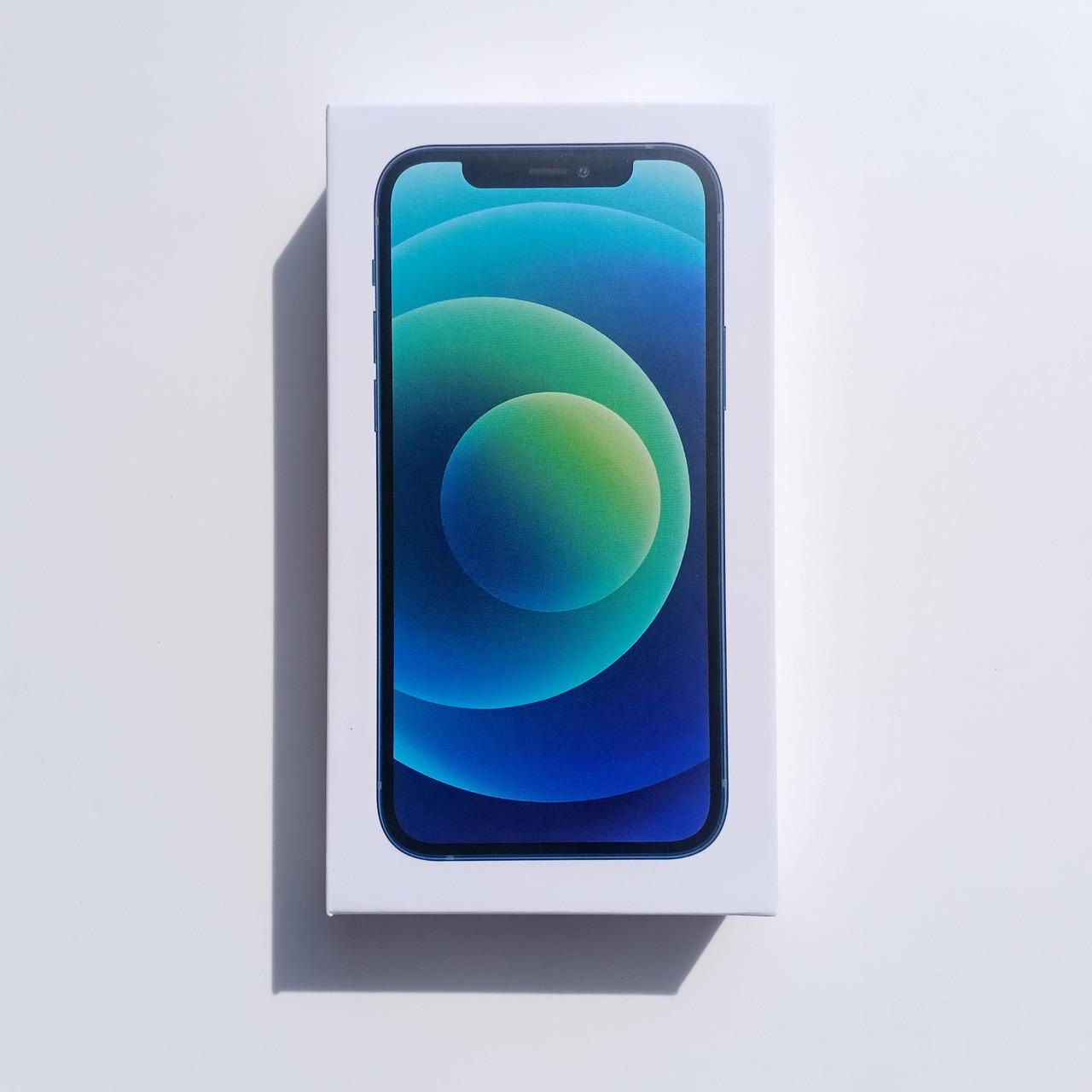Коробка Apple iPhone 12 Mini Blue