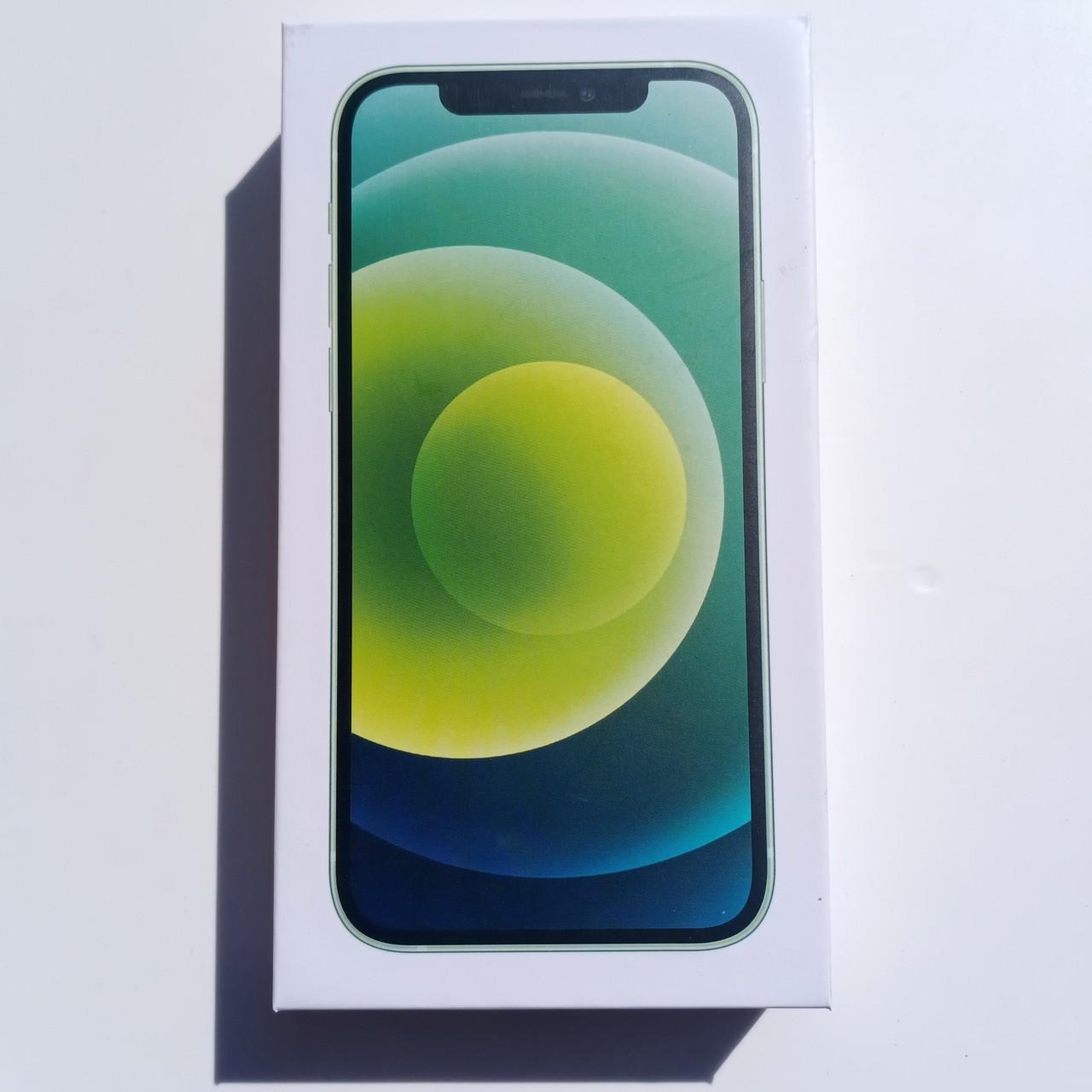 Коробка Apple iPhone 12 Green