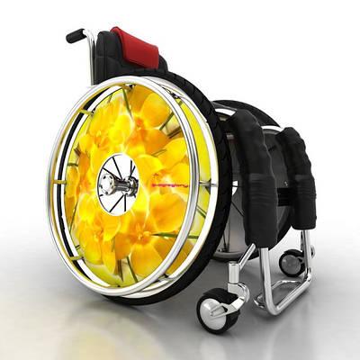 Защита на спицы для инвалидных колясок