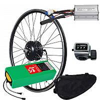 Електровелонабор заспіцований MXUS XF08R 36В 350Вт + літієва АКБ 10Ач (в сумці)