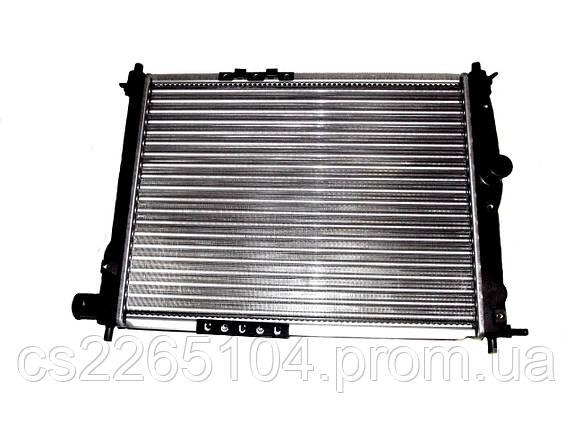 Радиатор охлаждения на Ланос без кондиционера, фото 2