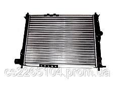 Радиатор охлаждения на Ланос без кондиционера
