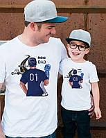 Футболки фемілі цибулю тато і син