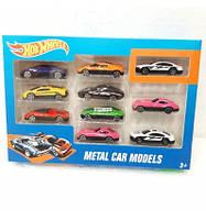 Набор металлических коллекционных моделек Hot Wheels 10 шт HW100C