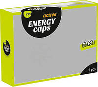 Збуджуючі капсули для чоловіків ERO Energy Caps, 5 шт.