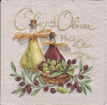 Лаванда, оливки