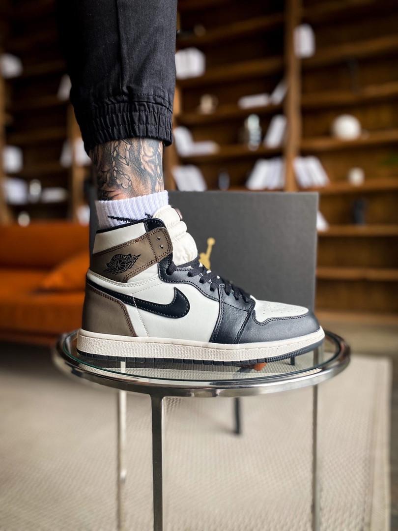 """Мужские/женские кроссовки Nike Air Jordan 1 Retro """"Dark Mocha, 36"""