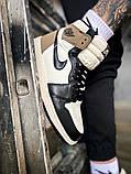 """Мужские/женские кроссовки Nike Air Jordan 1 Retro """"Dark Mocha, 36, фото 4"""