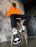 """Мужские/женские кроссовки Nike Air Jordan 1 Retro """"Dark Mocha, 36, фото 6"""