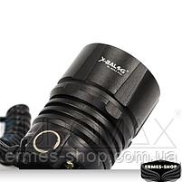 Ліхтар налобний Bailong 2x18650 micro USB BL-8053-P50, фото 4