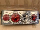 Задние фонари на ВАЗ 2108 - 2109 - 21099 Четыре круга SMOKE светлые! стопы на ваз Цена за комплект!, фото 3