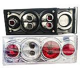 Задние фонари на ВАЗ 2108 - 2109 - 21099 Четыре круга Хромированные светлые! стопы на ваз Цена за комплект!, фото 3