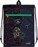 Школьный набор Kite Education Рюкзак каркасный 35х25х13 11.5 л + пенал + сумка для обуви (SET_K21-501S-2), фото 9