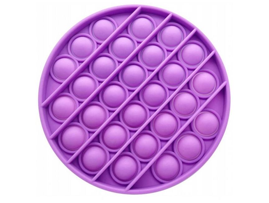 Антистрес сенсорна іграшка Pop It Коло Фіолетовий