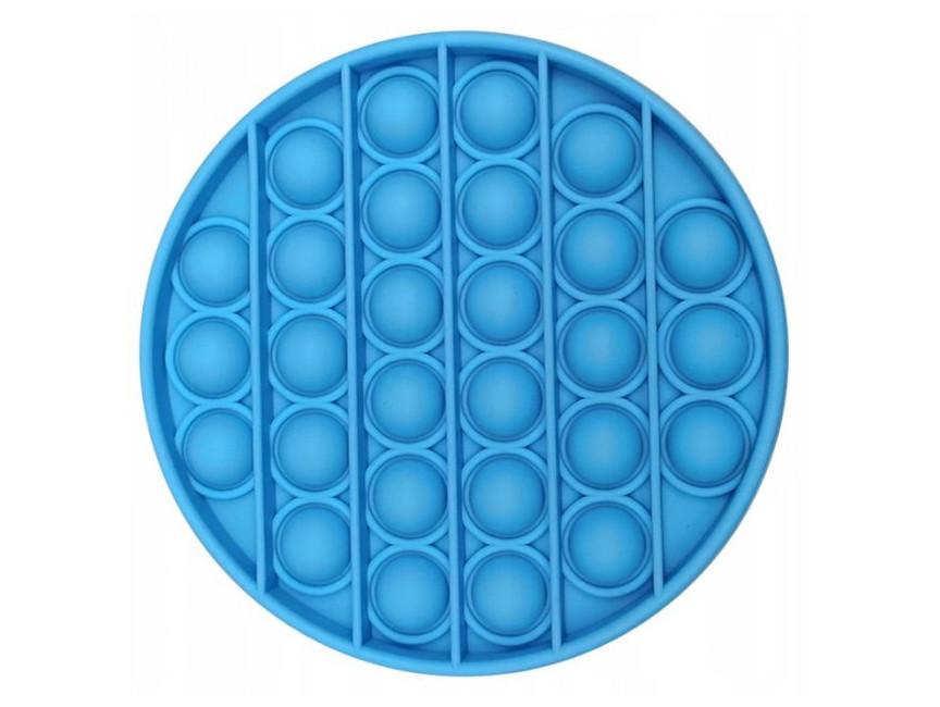 Антистрес сенсорна іграшка Pop It Коло Блакитний