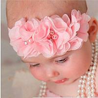Нарядная повязка для девочки на голову
