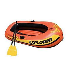 """Надувная лодка Intex 58331 """"EXPLORER"""", 185-94-41 см"""