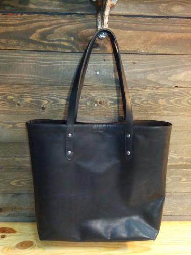 Кожаная сумка - шоппер Размер - 35*35 см.
