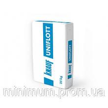 Шпаклівка гіпсова КНАУФ Уніфлот / KNAUF Uniflot, 25 кг