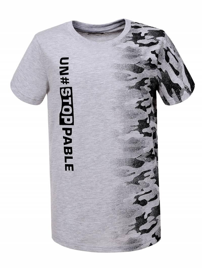 Камуфляжная футболка для мальчика
