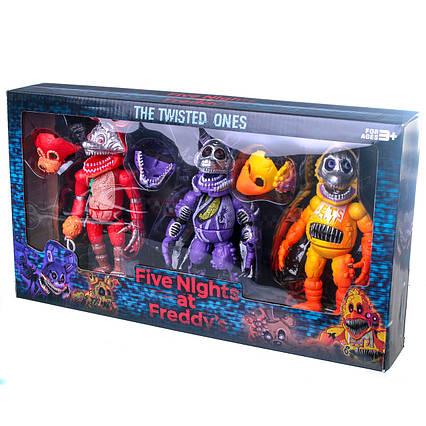 Іграшка п'ять ночей у Фредді. Набір фігурки з Фредді 3 фігурки в наборі