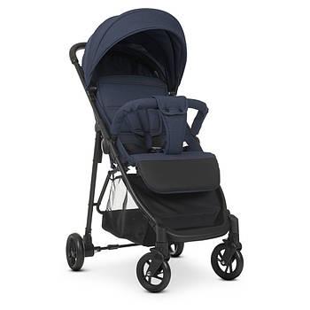 Детская прогулочная коляска M 4249-2 Blue книжка от 6-ти месяцев до 3-х лет