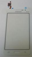 Тачскрин / сенсор (сенсорное стекло) для Samsung Galaxy Grand Prime Duos G530 | G530H | G530F (белый цвет)