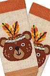 Набор 3 шт. Носочки для грудничков укороченные Bross с рисунком, фото 3