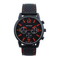Мужские часы GT Grand Touring черные с красным