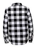 Рубашка в клетку с длинным рукавом, фото 3