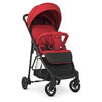 Детская прогулочная коляска M 4249-2 Red книжка от 6-ти месяцев до 3-х лет