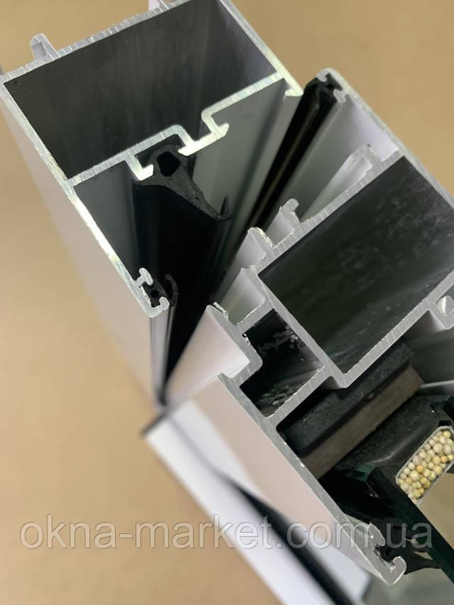 Холодний алюмінієвий профіль alumil 15000 фото Вікна Маркет