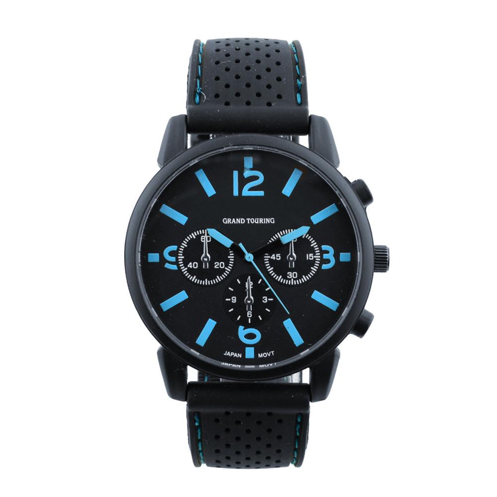 Мужские часы GT Grand Touring черные с синим