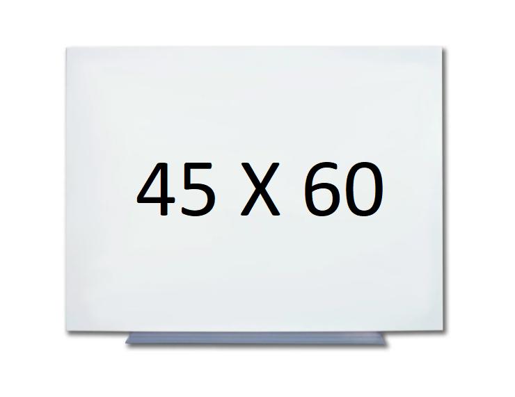 Безрамная магнитная доска для маркера 45 х 60 см. Белая маркерная доска для рисования маркером. Tetris