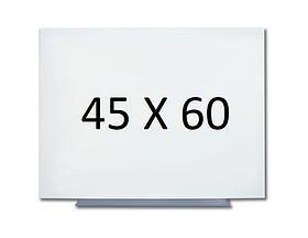 Безрамна магнітна дошка для маркера 45 х 60 див. Біла маркерна дошка для малювання маркером. Tetris