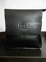 Сумка мужская деловая вместительная Polo Videng, композитная кожа, 23*22*7