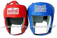 "Шлем боксерский открытый  ""Sprinter"". Кожа"