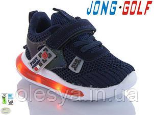 Кроссовки детские светящиеся для мальчиков ТМ Jong Golf 10371 Размеры 27,28, 30