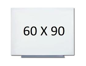 Безрамная магнитная доска для маркера 60 х 90 см. Белая маркерная доска для рисования маркером. Tetris