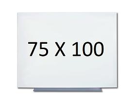 Безрамна магнітна дошка для маркера 75 х 100 см Біла маркерна дошка для малювання маркером. Tetris