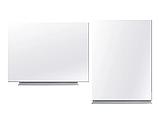 Безрамная магнитная доска для маркера 75 х 100 см. Белая маркерная доска для рисования маркером. Tetris, фото 6