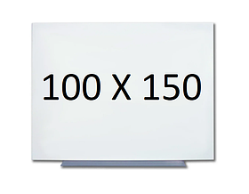 Безрамна магнітна дошка для маркера 100 х 150 див. Біла маркерна дошка для малювання маркером. Tetris