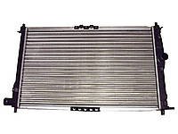 Радиатор охлаждения на Ланос с кондиционером