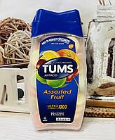 Конфеты от изжоги и боли в желудке TUMS Фруктовое ассорти, 72шт
