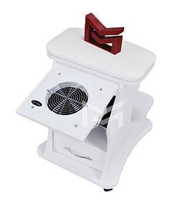 Подставка для педикюра с ящичком педикюрная пуф- подставка для ног с педикюрной вытяжкой пылесосом Air Max V6