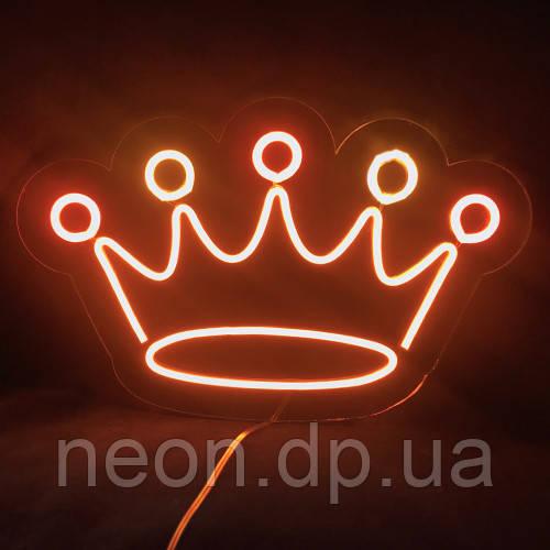 """Неоновая вывеска """"Корона"""""""