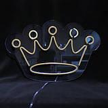 """Неоновая вывеска """"Корона"""", фото 2"""