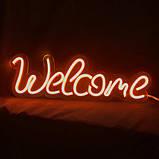 Неоновая надпись «Welcome», фото 2